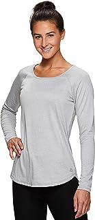 RBX Active Women's Long Sleeve Workout Running Tee Shirt