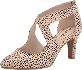 Life Stride Women's Giovanna 2 Pump, Natural Spotted Leopard, 7 Wide
