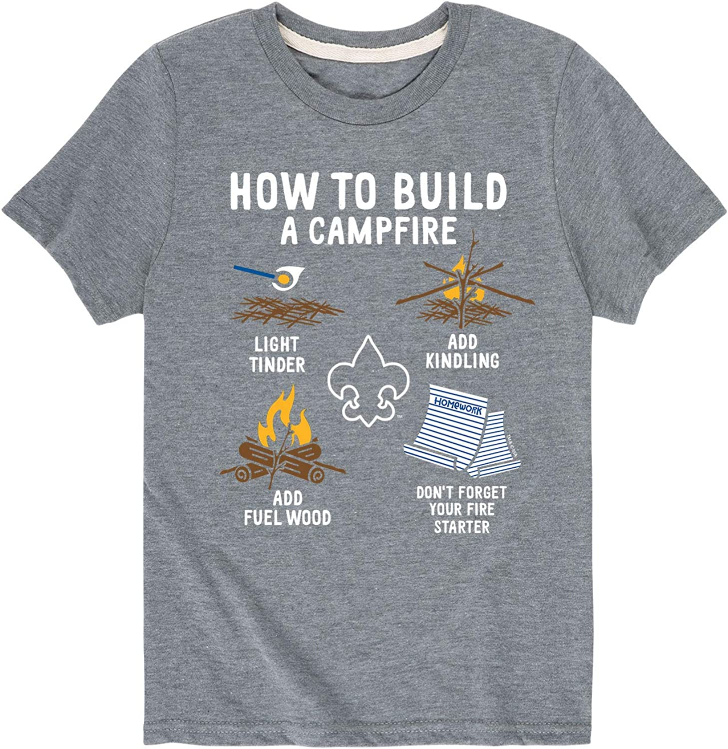 Boy Scouts of America Camping Scout Me In Toddler Short Sleeve Tee