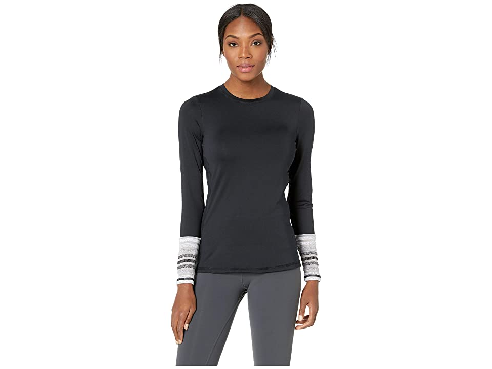 SHAPE Activewear Refine Long Sleeve Tee (Black) Women