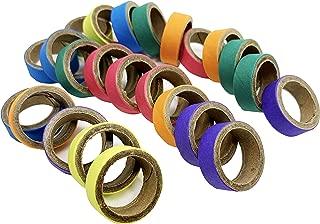Bonka Bird Toys 3160 Pk12 1-Inch Bagel Ring Foot Talon Bird Toy