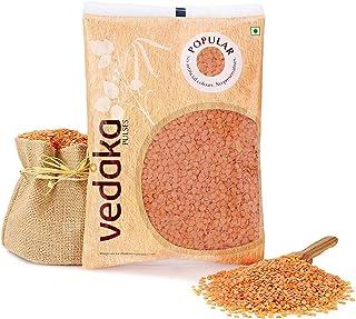 Vedaka Popular Red Masoor Dal Split, 1 kg