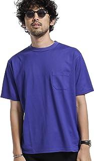 [ナノユニバース] 《WEB限定》《汗染み防止》Anti Soaked ヘビー クルーネック ビッグ Tシャツ メンズ