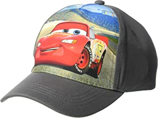 Disney Boys' Big Cars Lightning McQueen Baseball Cap, Kid's, Multi, One Size