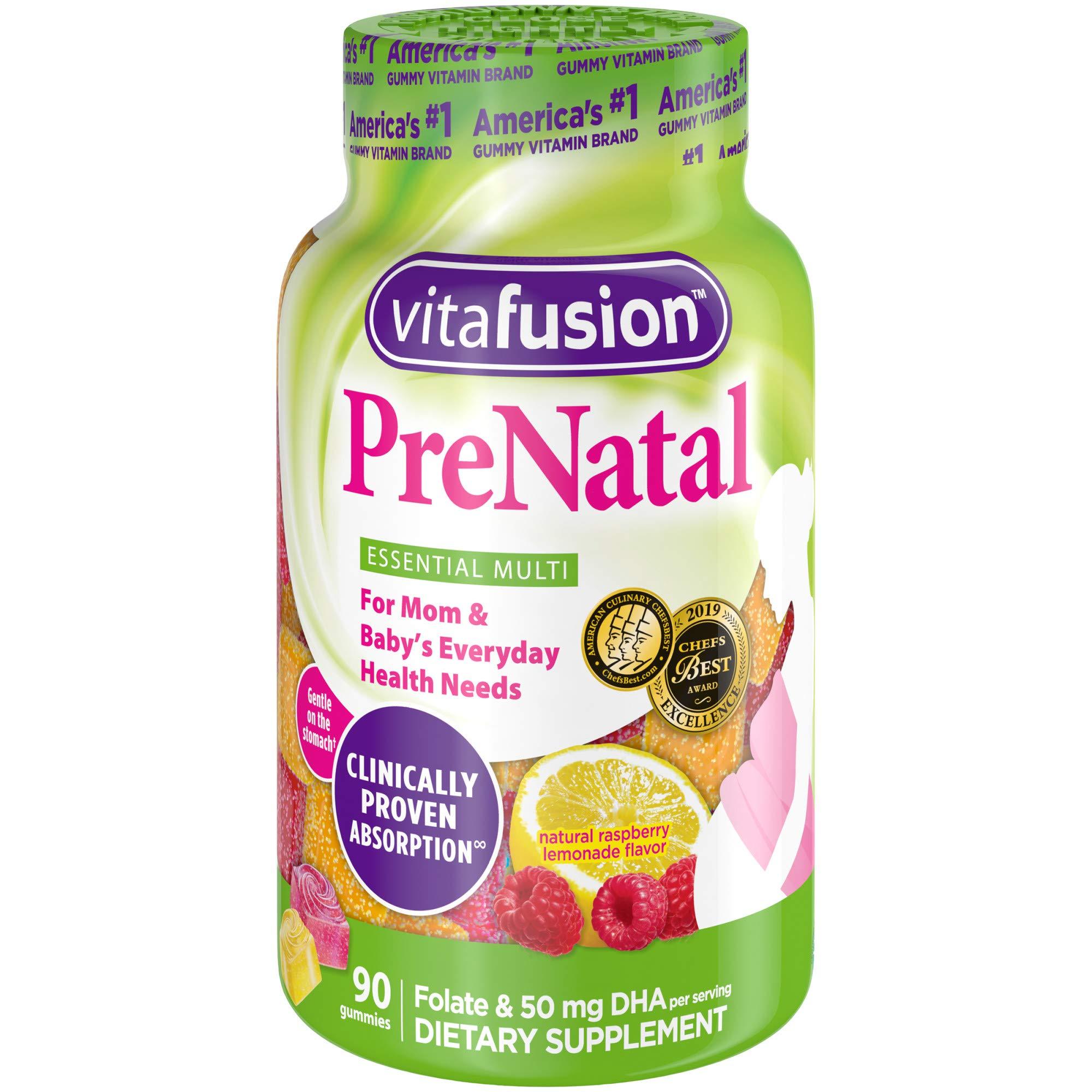 Vitafusion PreNatal Gummy Vitamins 90ct