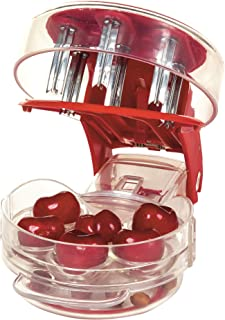 Prepworks by Progressive Cherry Pitter GPC-5100 Cherry Pitter Stoner Seed and Olive Tool Remover