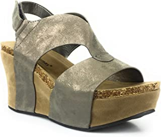 89576ed61a Amazon.com: Pierre Dumas - Platforms & Wedges / Sandals: Clothing ...