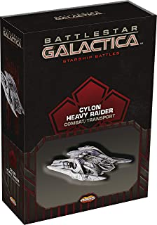 Ares Games Battlestar Galactica : Starship Battles - Cylon Heavy Raider (Combat/Transport) Board Game, Multi-Colored