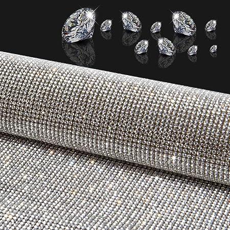 5Pcs Dazzling Diamond Crystal Rhinestones Self Adhesive Sticker Decal DIY Crafts