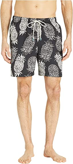 Naples Pina Pinata Swim Trunks