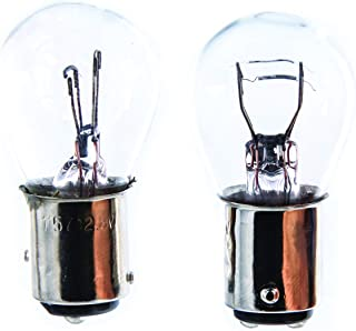 Camco (54807) Auto Park/Tail 1157 Bulb, (Pack of 2)