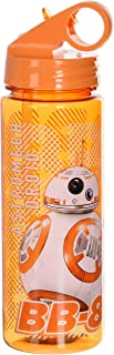 Silver Buffalo SE0764 Star Wars Episode 7 BB-8 Tritan Water Bottle, 20-Ounces