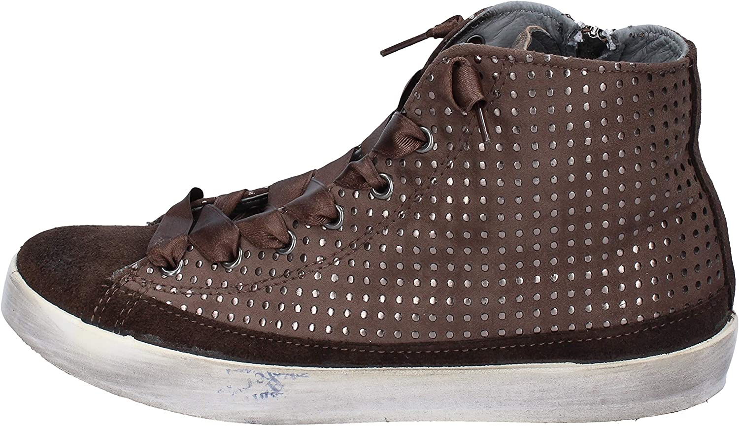 Beverly Hills Polo Club Fashion-Sneakers Womens Suede Brown