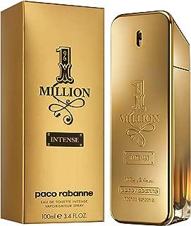 Paco Rabanne EDT Spray, 1 Million Intense, 3.4 Ounce