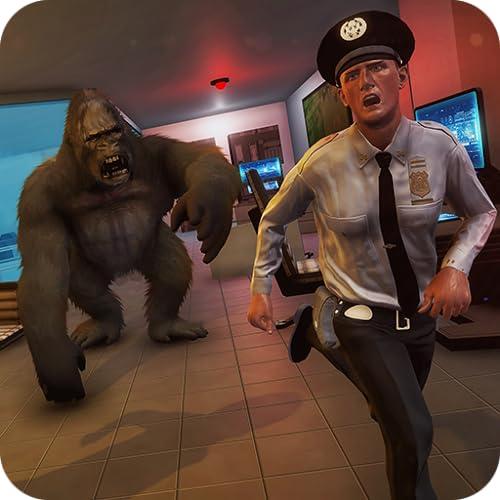 Unglaubliche Affen City Rampage Krieg in Vegas City Gangster Crime 3D: Regeln des Überlebens Dschungel Held Wild Kong Gorilla Planet Action Simulator Spiele kostenlos für Kinder 2018