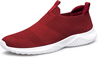 Women's Walking Shoes - Slip on Sneakers Lightweight Tennis Shoes Sock Sneakers