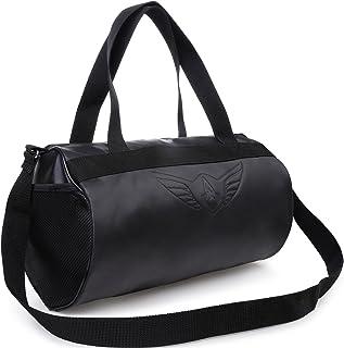 AUXTER BLACKY Gym Bag Duffel Bag Emboss Logo ( Black )