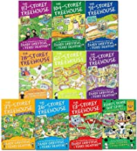 The Treehouse Series 10 Books Collection Set By Andy Griffiths (Storey-Treehouse-13,26,39,52,65,78,91,104,117 & World Book Day)