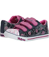 SKECHERS KIDS Sparkle Glitz - Denim Daisy (Little Kid/Big Kid)