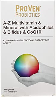 Proven Probiotics A-Z Multivits and Acidophilus and Bifidus and Co Q10 Capsules - by Proven Probiotics