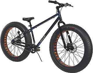 Dynacraft Krusher Men's Fat Tire Bike, Blue/Black/Red, 26
