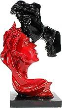 "eSplanade Couple face Murti Idol Statue Sculpture (10"") | Home Decor"