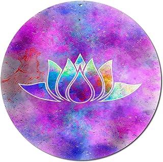 """"""" Fiore di loto"""" Suncatcher n. 20.3. Ø 20 cm Idea Regalo Natale Compleanno/Simbolo amore illuminazione/regalo grazie/fines..."""
