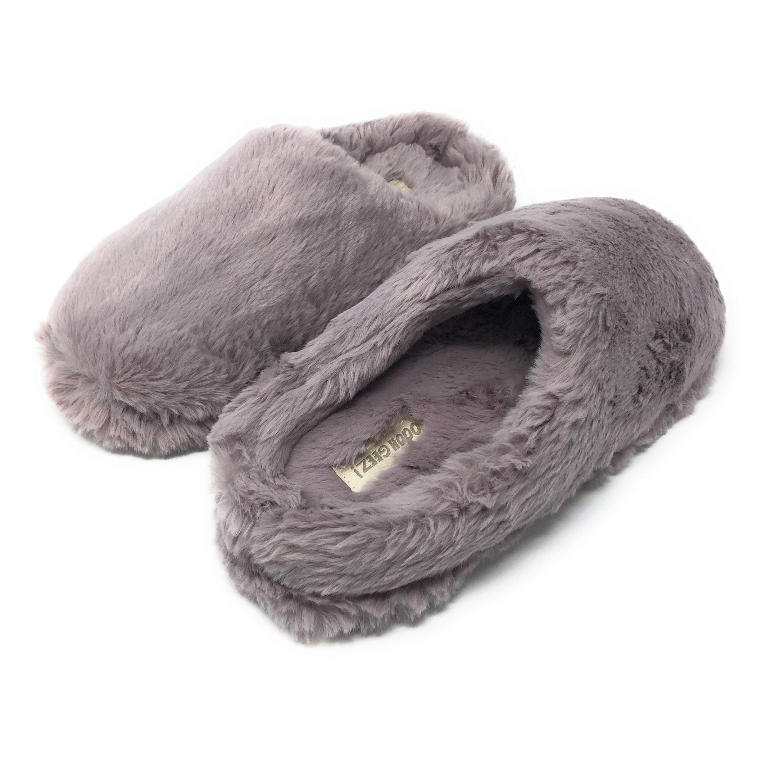 Image of Cozy Fuzzy House Shoes for Women