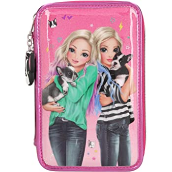 Toy Planet Estuche Triple Top Model: Amazon.es: Amazon.es