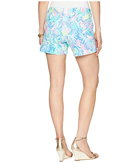Lilly Pulitzer Callahan Knit Shorts Multi Mermaids Cove Amazon Cheap Online With Paypal Low Price Discount 2018 New Buy Cheap 2018 New CmdU4a