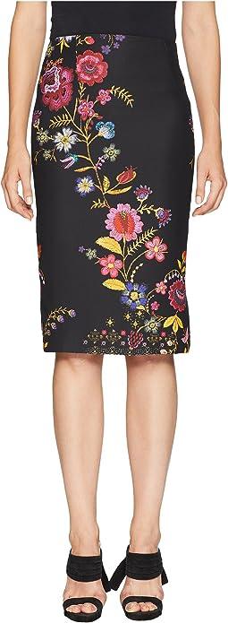 Cady Printed Skirt