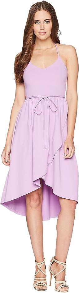 Cascade Front Dress