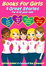 Books for Girls - 4 Great Stories for 8 to 12 year olds: Julia Jones' Diary, Horse Mad Girl, Diary of an Almost Cool Girl ...