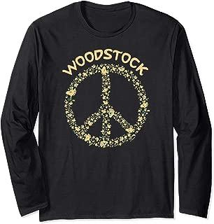 Woodstock 50th Anniversary Peace Sign Long Sleeve T-Shirt