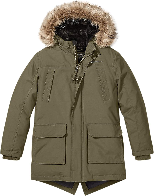 Eddie Chicago Mall Bauer Boys Parka Coat Quality inspection Fur Down - Winter Hood
