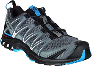 Salomon Men's XA Pro 3D Trail Running Shoe, Stormy Weather/Black/Hawaiian Surf, Size: 9