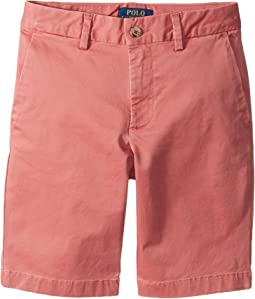 Polo Ralph Lauren Kids - Stretch Cotton Chino Shorts (Big Kids)