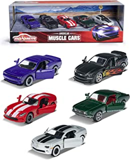 Simba Majorette American Muscle Cars Gift Pack, Multi-Colour