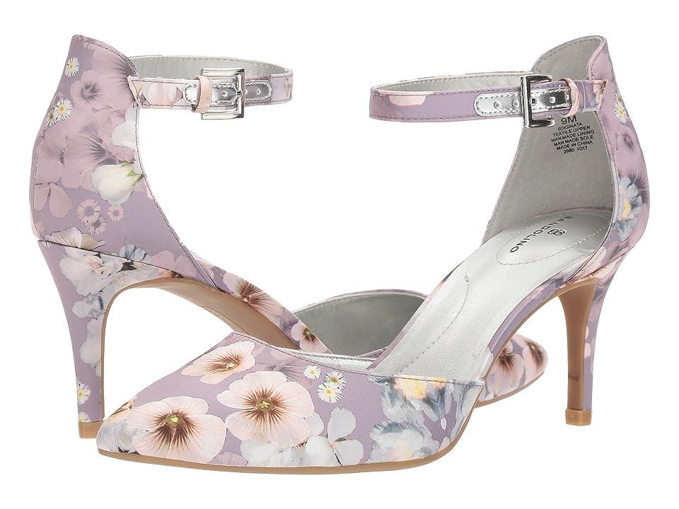 Bandolino Ginata (Lilac Enchanted Floral Matte Satin) Women