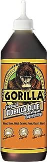 Gorilla Original Gorilla Glue, Waterproof Polyurethane Glue, 36 ounce Bottle, Brown
