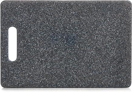 3er Set Schneidebrett Zeller Kunststoff 3 farbig Groß 36x22cm Servierbrett