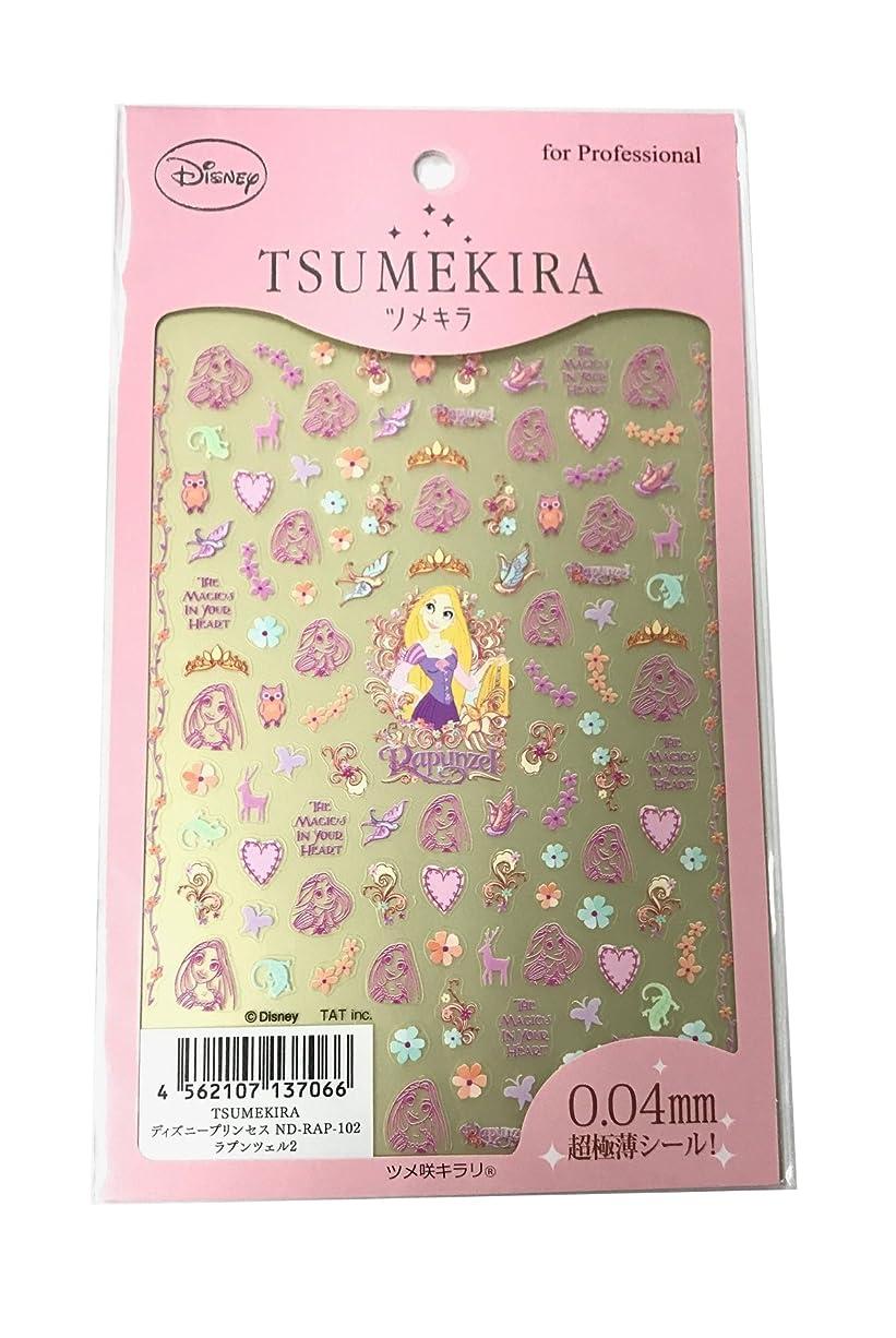 いわゆる異議試みツメキラ(TSUMEKIRA) ネイル用シール ラプンツェル2 ND-RAP-102