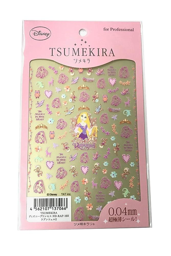 人生を作る米ドル対角線ツメキラ(TSUMEKIRA) ネイル用シール ラプンツェル2 ND-RAP-102