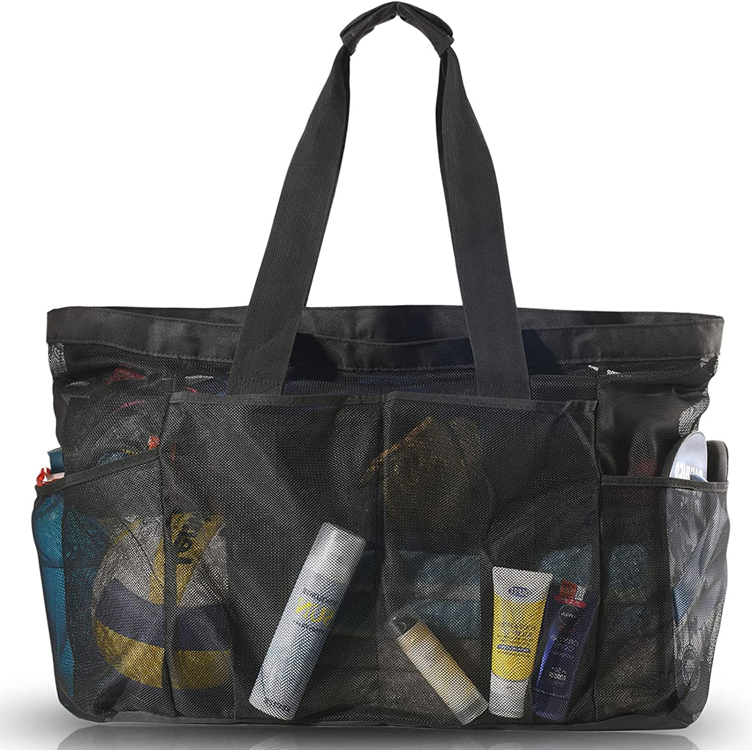Bulex Extra Large Beach Bags and Totes with Mesh Gorgeous - Tote XXL Very popular Bag