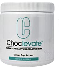 Elevacity Choclevate 8 ounces (226 grams) 8 Grams Per Serving, 30 servings/Container 35 Calories and 5 milligrams Caffeine/Serving Original Formula