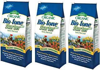 Espoma Organic Bio-Tone Starter Plus All Natural Plant Food - 4 lb Bag BTS4, 3 Pack