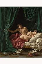 Louis Jean Francois Lagrenee - Mars & Venus, 1770 Fine Art Giclee Print - 24 x 36