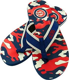 c667ff3778e Forever Collectibles MLB Chicago Cubs Men s Contour Flip Flop