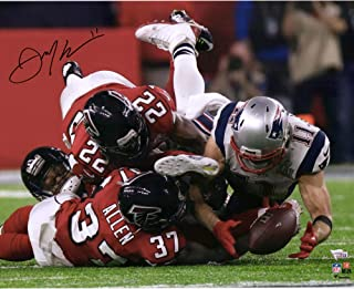 Julian Edelman New England Patriots Autographed 16