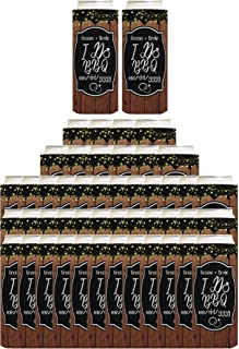 I Do BBQ Your Text and Date Here BBQ Rehearsal Dinner 96-Pack Custom Ultra Slim Can Coolies Multi
